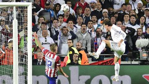 2014 Gareth Bale Atletico Madrid Real Madrid