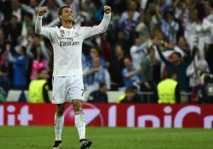 2. Cristiano Ronaldo (5 goles en 14 partidos) | El portugués de 30 años marcó en la victoria por 3-2 de Manchester United sobre Milan en 2007 y en la victoria a domicilio ante Arsenal dos años después. También marcó en la goleada del Dortmund a Real Ma...