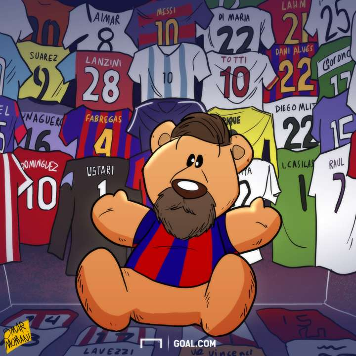Messi Teddy Bear