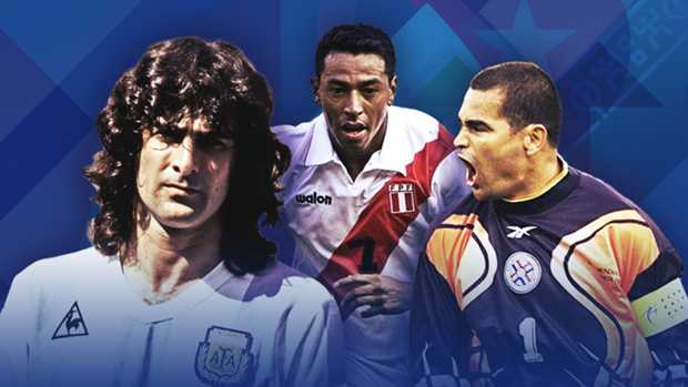 The greatest players never to win the Copa América - Part one