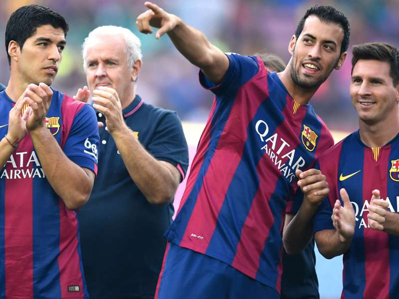 Busquets hails 'club of my life' Barcelona after contract extension
