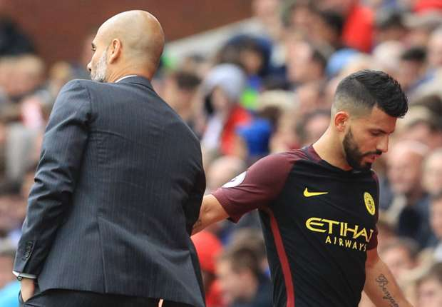 'Guardiola playing a dangerous game with Aguero at Man City'