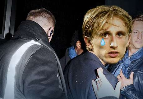 Youthful Modric refused entry to a bar