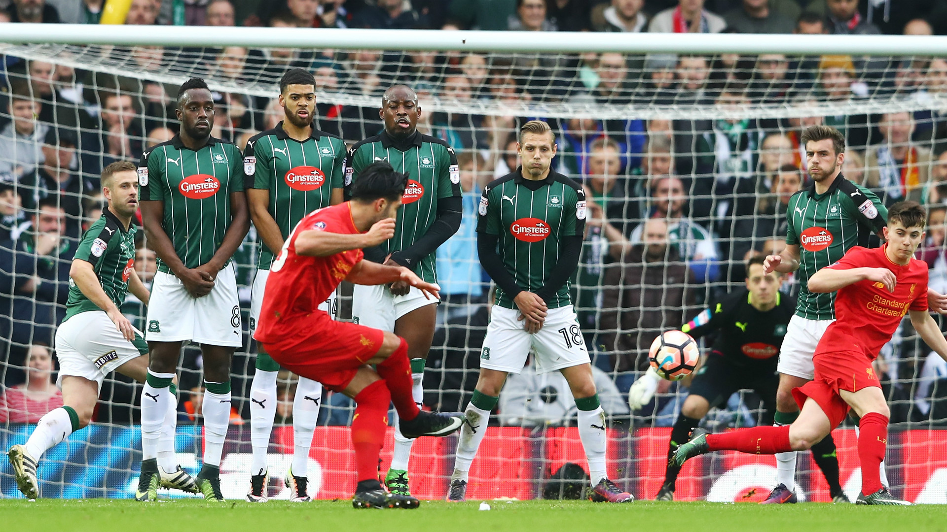 HD Emre Can Liverpool Plymouth