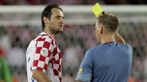 Image result for josip simunic red card australia