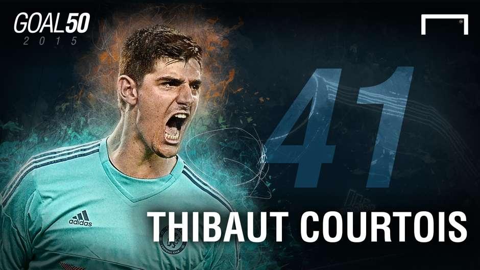 41 Thibaut Courtois G50