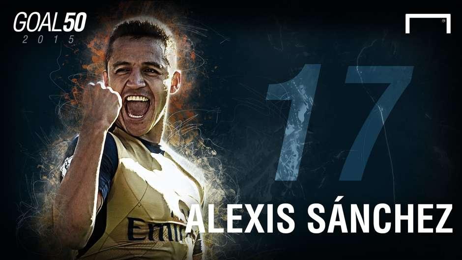 17 Alexis Sanchez G50