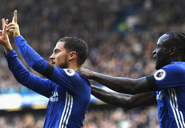 Hazard is playing closer to Costa in 3-4-3 for Chelsea and it is devastating!