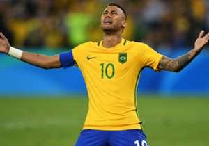 即使已贏得歐聯、西甲等頂級賽事冠軍,奧運男足金牌對尼馬及巴西同樣是極為重要,難怪這位森巴巨星射入12碼後即時爆喊,令人感動。
