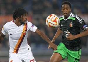 """<a href=""""http://www.goal.com/nl/news/2397/europa-league/2014/11/27/6517311/talent-spotter-terence-kongolo"""" target=""""_blank"""">Terence Kongolo (Feyenoord)</a> - Vaste basisklant bij de Rotterdammers, ondanks dat hij pas 21 is. Speelde grandioos in de 2-0 z..."""