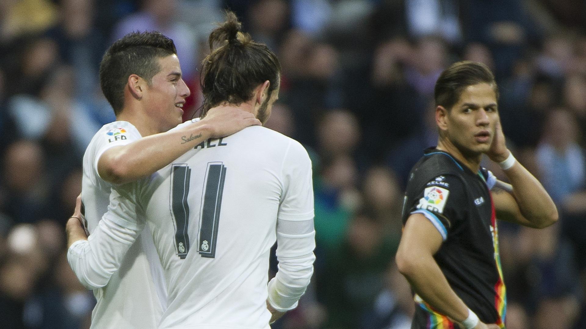 James Rodriguez Gareth Bale Real Madrid