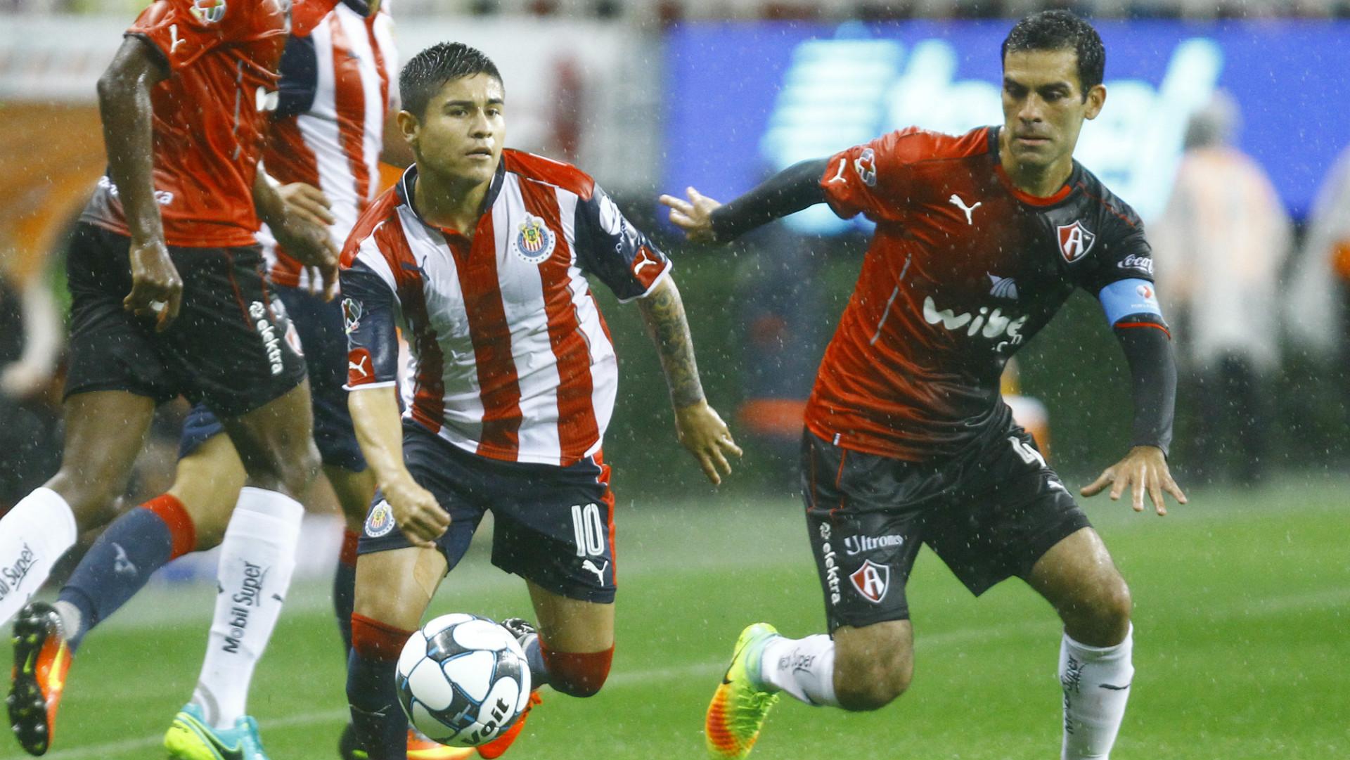 Javier Lopez Chivas Rafa Marquez Atlas Liga MX 08202016