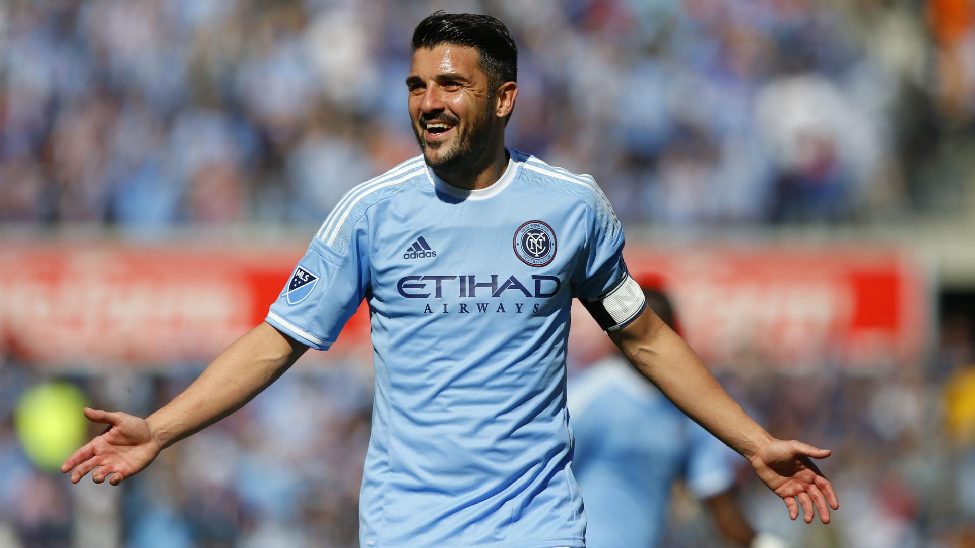 David Villa New York City FC MLS 03262016