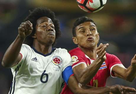 REPORT: Costa Rica shocks Colombia