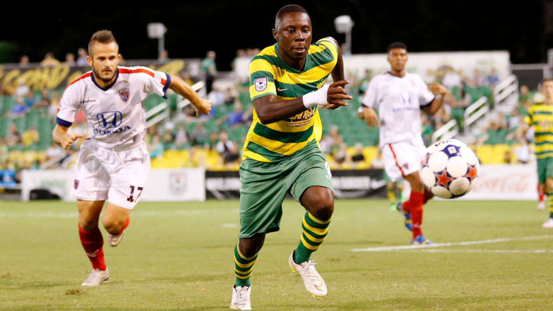 Freddy Adu Tampa Bay Rowdies NASL 10032015
