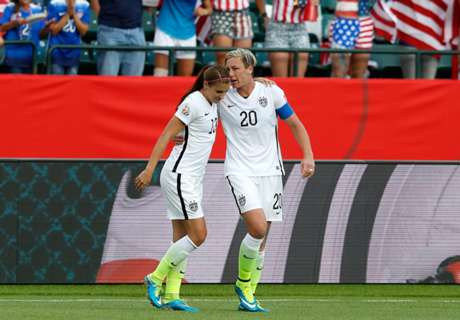 USA 2-0 Colombia: USWNT to quarters