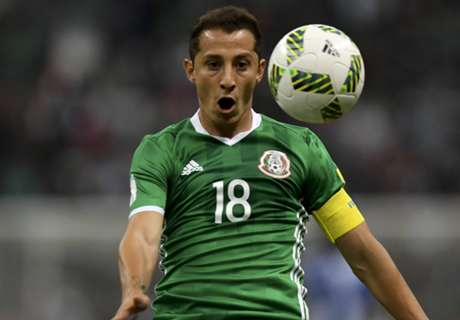 Guardado out of Mexico WCQs