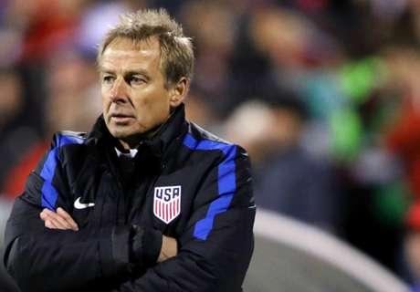 Verenigde Staten gooien Klinsmann eruit