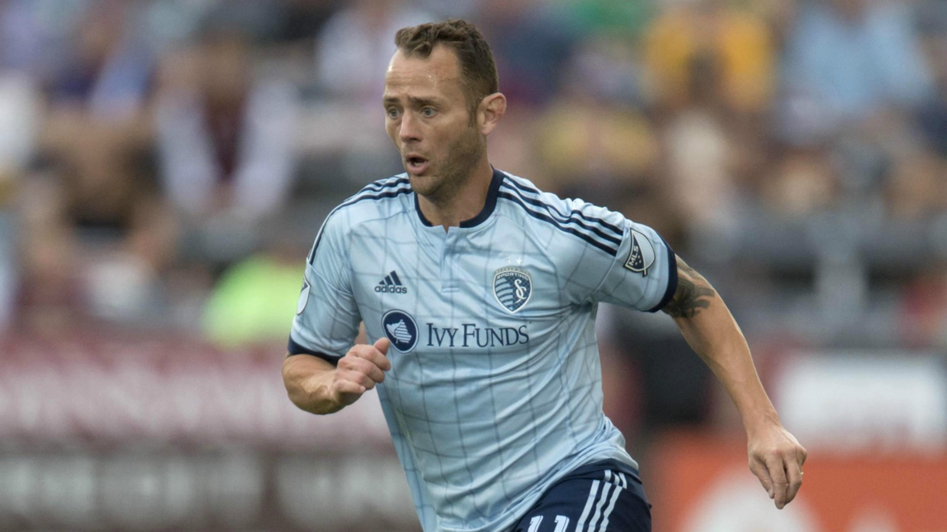 Brad Davis MLS Sporting KC 08162016
