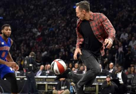 Nash kicks up dunk assist