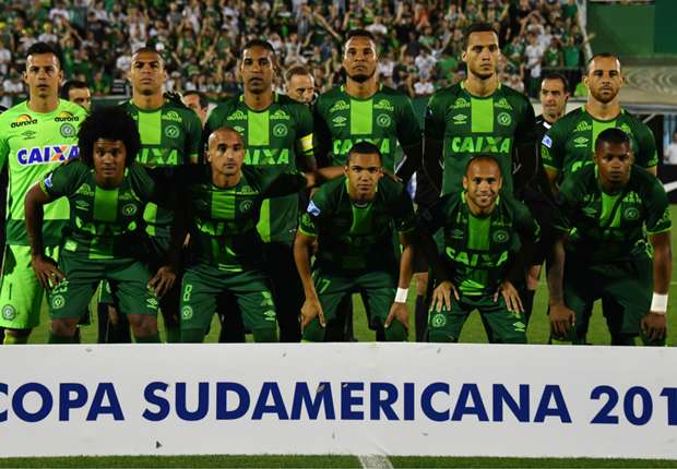 Grande Torino, the Busby Babes, Zambia's heroes & now Chapecoense - Heaven has welcomed a new team of champions