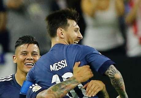 Messi leidt Argentinië naar Copa-finale