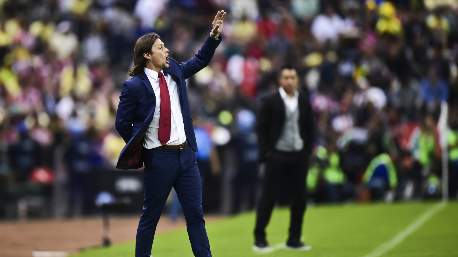 Matias Almeyda Chivas Club America Liga MX 08272016