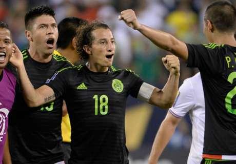 Guardado loodst Mexico naar finale