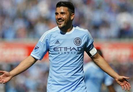 Villa nets winner in showdown of stars