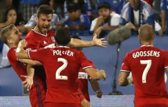 Chicago Fire win first MLS road game in two years
