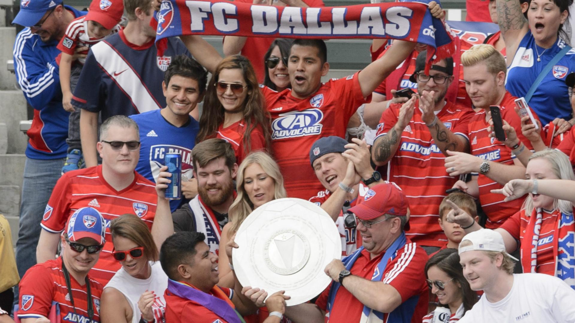 FC Dallas Supporters' Shield 10232016