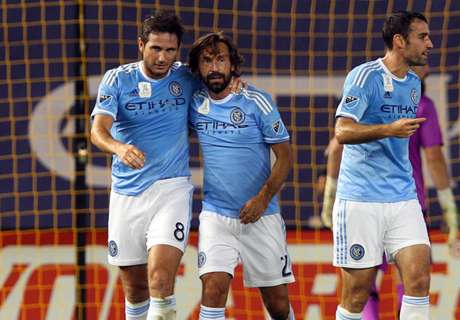 Lampard finalmente marca na MLS