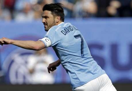 El Villa más goleador desde el Valencia