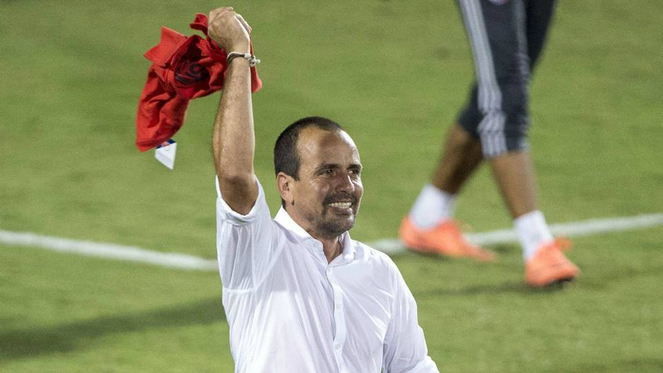 Oscar Pareja FC Dallas U.S. Open Cup final 09132016