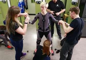 Megan Rapince juga terbang ke Vancouver untuk membantu EA Kanada terkait desain game