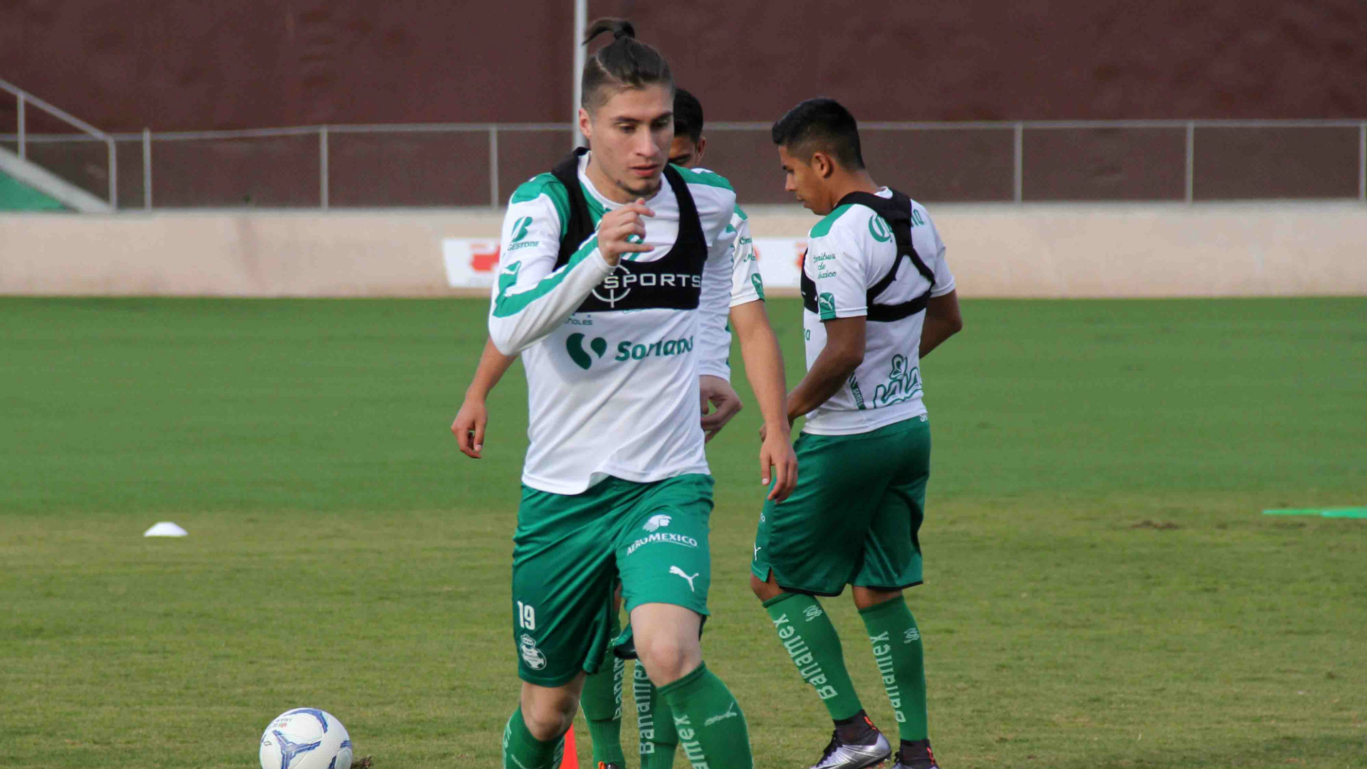 Jorge Villafana Santos Laguna Liga MX training