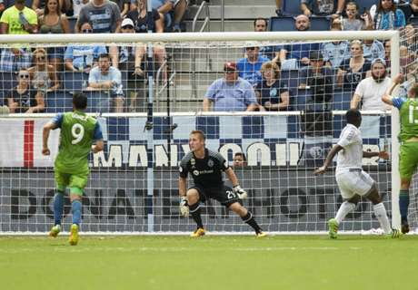 Sounders manage just one shot