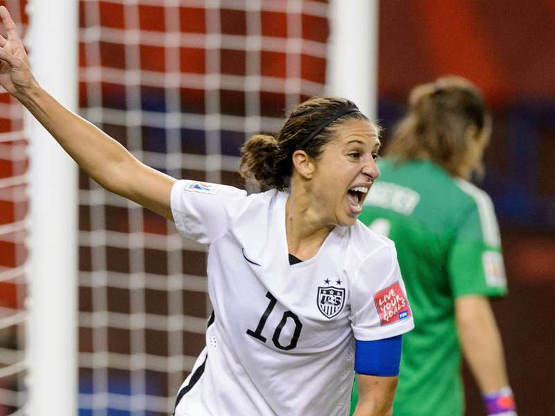 U.S. trio on shortlist for Women's World Cup Golden Ball