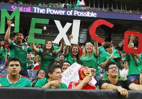 LIVE: Meksiko vs. Cile