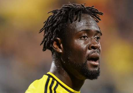 Kamara scores twice in Crew draw