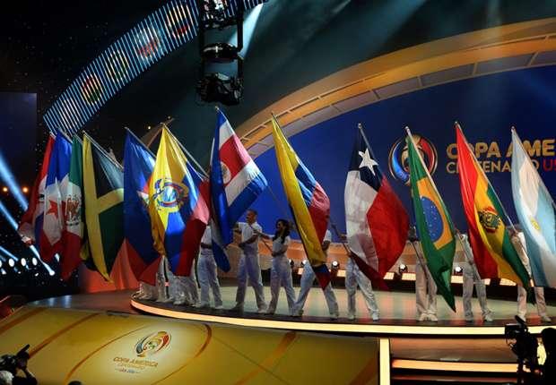 Copa America Centenario draw results