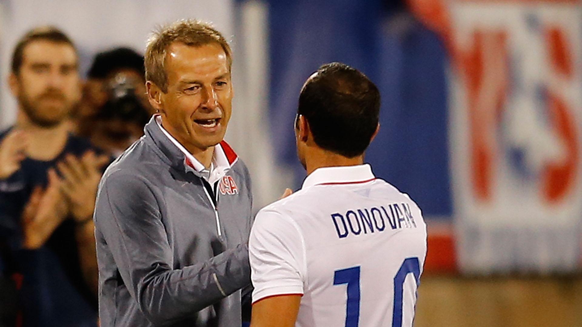 jab at Jurgen Klinsmann on Q Ampa Jurgen