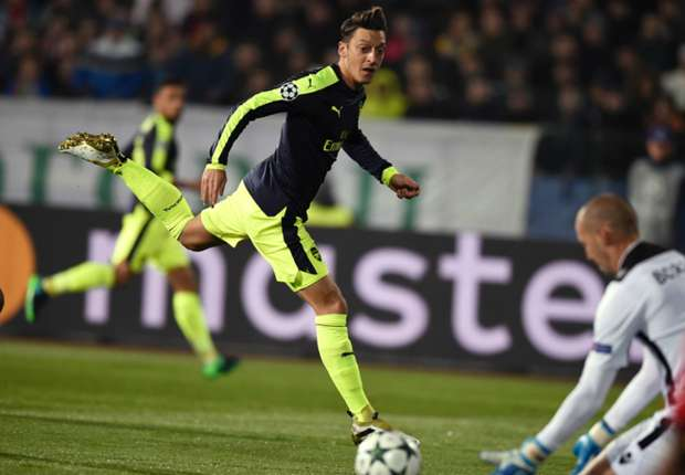 VIDEO: Watch the amazing Ozil goal everyone's in love with