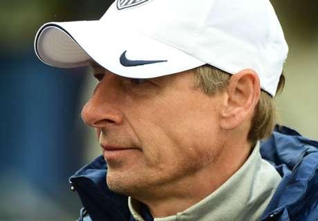 Klinsmann denies Everton rumors