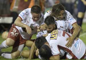 Huracán (3) 2-2 (2) River. Semifinal Copa Sudamericana.