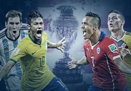 Historial: Argentina vs. el Grupo D