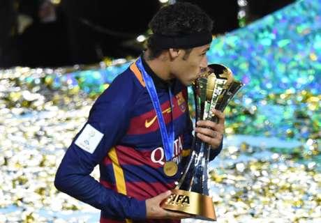 Barca: 'triplete' Neymar, primato Alves