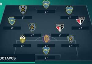 Pasaron los partidos de ida de los octavos de final de la Copa Libertadores y en Goal elegimos a los once de mejor rendimiento. ¿Qué te parece?