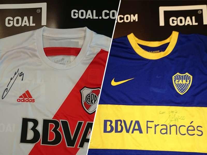 Goal.com te regala las camisetas firmadas por Cavenaghi y Lodeiro   Goal.com