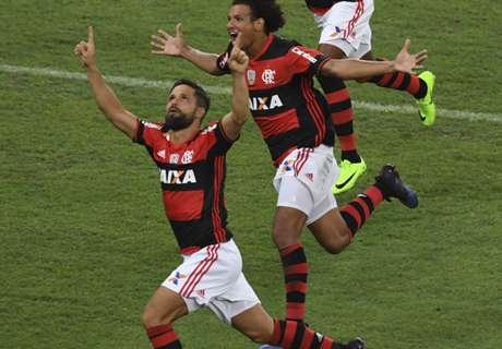 Paliza del Flamengo a San Lorenzo